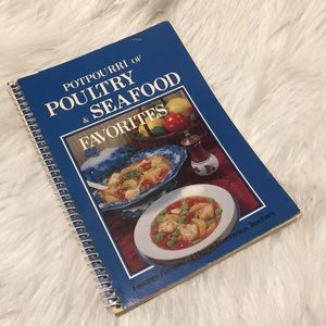 Potpourri of Poultry & Seafood Recipe Book